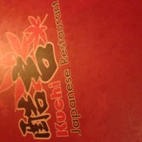 Photo taken at Kuchi Japanese Restaurant by Carmen on 5/12/2013