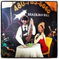 Photo taken at Brazilian Bull Steakhouse by Armando H. on 3/15/2013