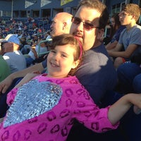 Photo taken at Eastwood Field by Lisa B. on 7/17/2014
