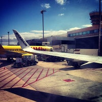 Photo taken at Gran Canaria Airport by mario m. on 5/26/2013