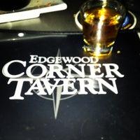 Photo taken at Edgewood Corner Tavern by Lindy F. on 5/12/2013