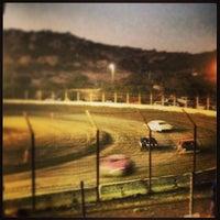 Photo taken at Barona Speedway & Dragstrip by Michael L. on 9/29/2013