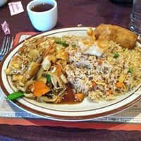 Photo taken at First Wok Chinese by Lynn F. on 12/24/2012