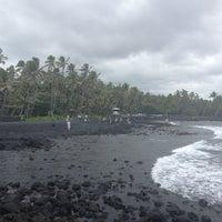 Photo taken at Punalu'u Black Sand Beach by Peter R. on 6/29/2013