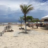 Photo taken at Praia Da Costa by Luis C. on 12/29/2015