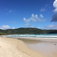 Photo taken at Lopes Mendes by Chantelle H. on 9/21/2016