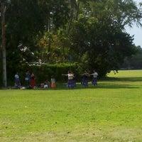 Photo taken at Kapiolani Regional Park by Harry C. on 4/7/2013