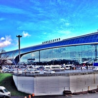 Photo taken at Domodedovo International Airport (DME) by Masrur on 11/9/2013