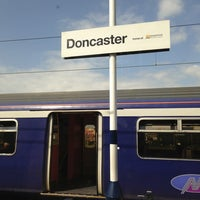 Photo taken at Doncaster Railway Station (DON) by Mihhail R. on 7/13/2013