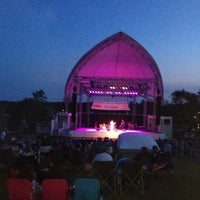 Photo taken at The Levitt Pavilion by Robert C. on 8/8/2014