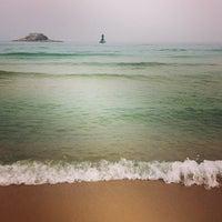 Photo taken at Sokcho Beach by llooookk on 1/13/2013