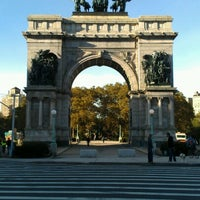 Photo taken at Prospect Park Loop by Vicki Y. on 10/13/2012