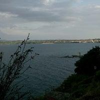 Photo taken at Lungolago Capodimonte by Christophe C. on 8/13/2015