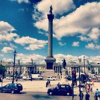 Photo taken at Trafalgar Square by Sujan O. on 6/3/2013
