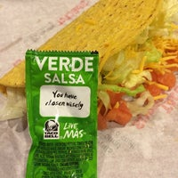 Photo taken at Taco Bell by Timothy Stanley on 1/20/2014