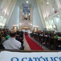Photo taken at Igreja Nossa Senhora de Fátima e São Jorge by Nanda P. on 7/24/2013