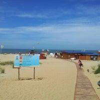 Photo taken at Bikini Beach by Jorge A. on 2/10/2013