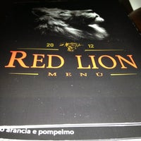 Photo taken at Red Lion by Massimo R. on 1/28/2013