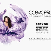 Photo taken at Cosmoprof Bologna by Valentina G. on 4/2/2014