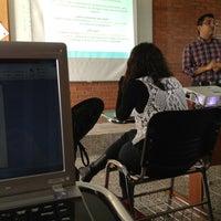 Photo taken at Facultad de Comunicación y Mercadotecnia de la UDLSB by José Carlos A. on 2/15/2013