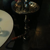 Photo taken at Mist Hookah Lounge by Cinthya T. on 2/3/2013