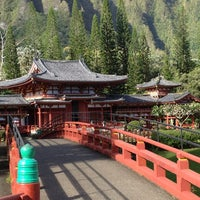 Photo taken at Byodo-In Temple by Olivia K. on 2/19/2013