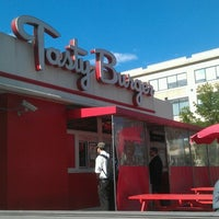 Photo taken at Tasty Burger by Joe E. on 5/18/2013