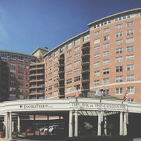 Photo taken at Inn at The Colonnade Baltimore - A DoubleTree by Hilton Hotel by Christopher A. on 6/28/2014