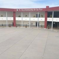 Photo taken at H. Ayuntamiento de La Paz by Flavio C. on 2/3/2014