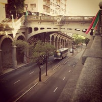 Photo taken at Viaduto Otávio Rocha (Viaduto da Borges) by Lucas D. on 12/24/2012