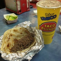 Photo taken at Taco Palenque by Robert A. on 12/22/2012