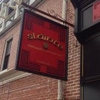 Photo taken at Sláinte Irish Pub by Bob E. on 6/7/2013