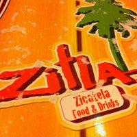 Photo taken at Zitla & Zicatela by Grace H. on 1/11/2013
