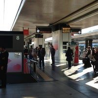 Photo taken at Binario 8 by Tommaso C. on 12/29/2012