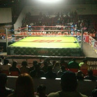 Photo taken at Arena Adolfo Lopez Mateos by Michelle R. on 7/7/2013