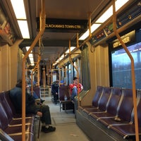 Photo taken at TriMet MAX Green Line by Wuu H. on 2/8/2015