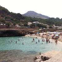 Photo taken at Cala Molins by Anastasia K. on 8/7/2013