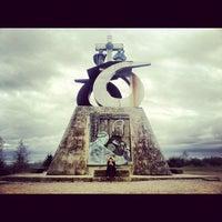 Photo taken at Monte Do Gozo by Ricardo P. on 12/17/2012