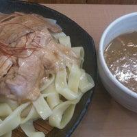Photo taken at とろ肉つけ麺 魚とん by ぞひ 田. on 7/6/2013