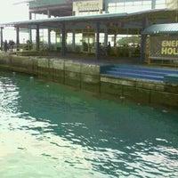 Photo taken at Hulhumalé Ferry Terminal (Malé) by Nosirp L. on 12/27/2012