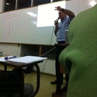 Photo taken at Universidade Moacyr Sreder Bastos (UniMsb) by Diego D. on 4/17/2013