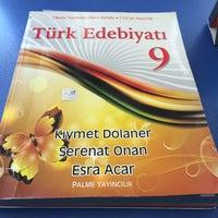 Photo taken at Adem Tolunay Anadolu Lisesi by Müleyke Ö. on 4/1/2014