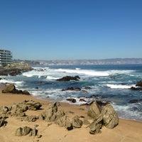Photo taken at Viña del Mar by Alonso O. on 5/4/2013