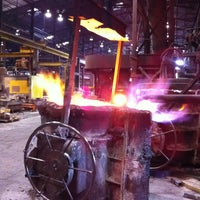 Photo taken at Columbia Steel Casting Co., Inc. by Alan G. on 10/4/2013