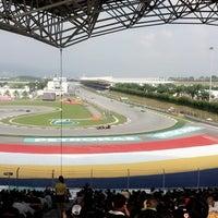 Photo taken at Sepang International Circuit (SIC) by Yau Y. on 3/24/2013