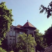 Photo taken at Parcul Romniceanu by Alexandra P. on 5/8/2013