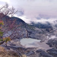 Photo taken at Gunung Tangkuban Parahu by Chie S. on 3/11/2014