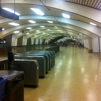 Photo taken at Downtown Berkeley BART Station by Chansoo K. on 1/8/2013
