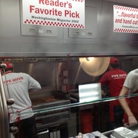 Photo taken at Five Guys by Randy L. on 1/17/2013