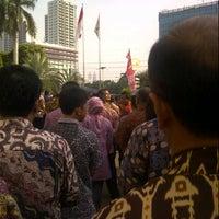 Photo taken at Graha Citra Caraka by eko p. on 10/23/2012